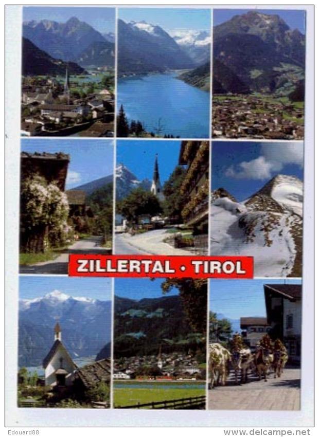 ZILLERTAL Multivue Karte - Zillertal
