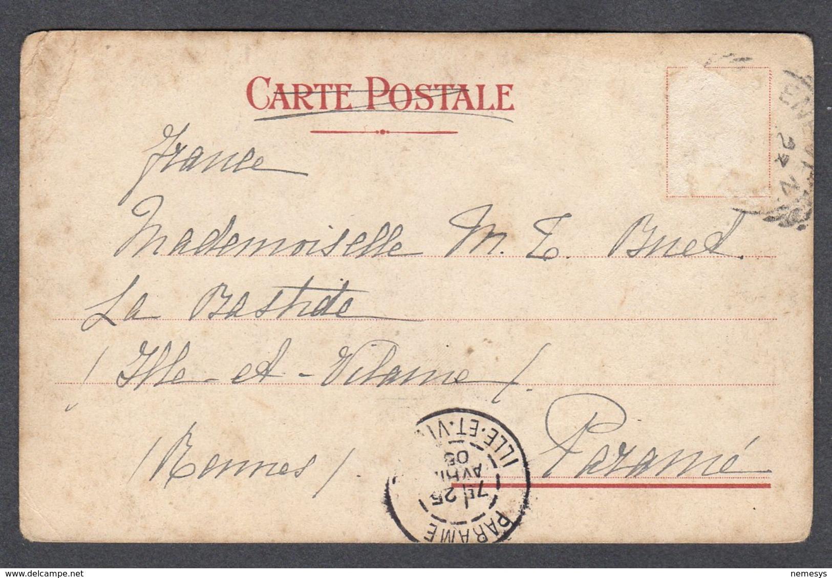 1905 NAPOLI COSTUMI NAPOLETANI N°26 DONNA ACCUDISCE GALLINE FP V SEE 2 SCANS - Napoli