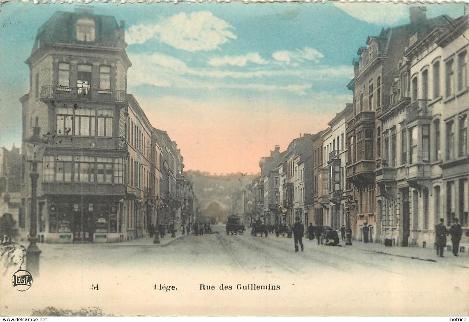 LIEGE - Rue Des Guillemins. - Liege