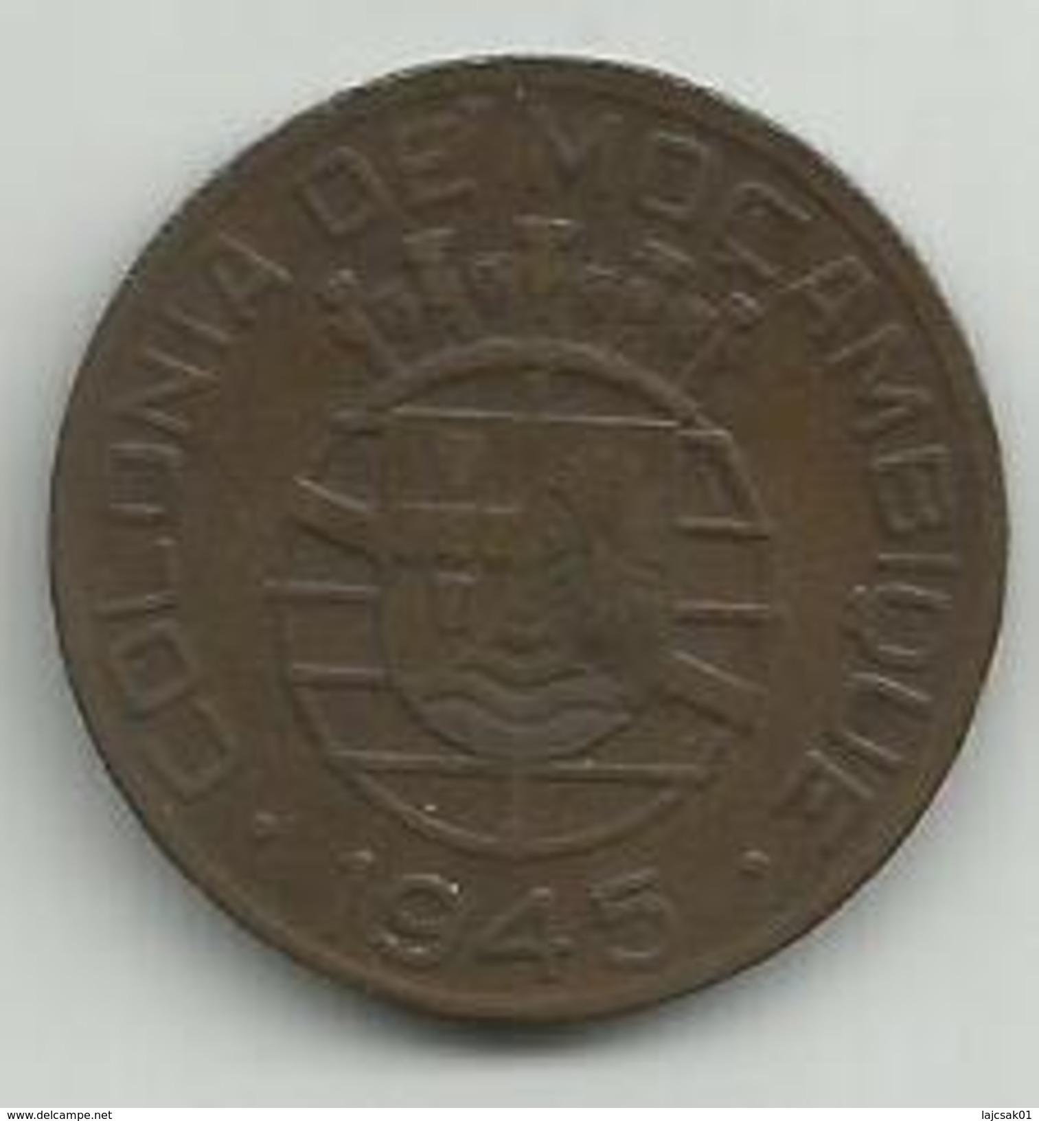 Mozambique 1 Escudo 1945. KM#74 - Mozambique