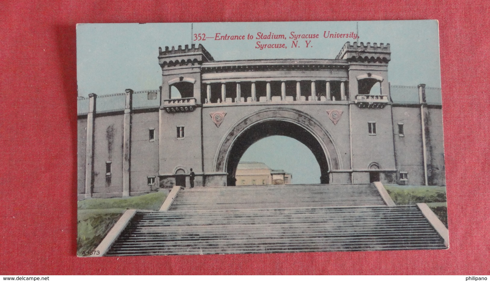 Entrance To Stadium Syracuse University NY    === Ref 2442 - Cartes Postales