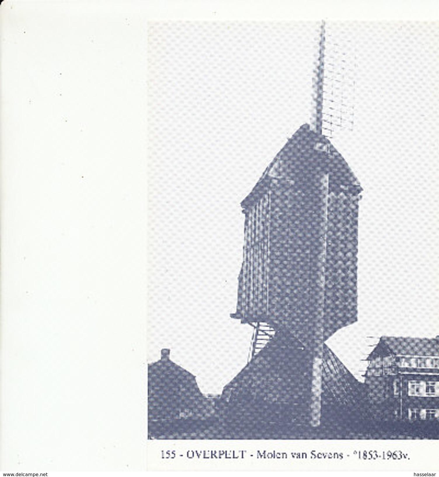 Overpelt - Molen Van Sevens - 1853-1963 - Overpelt