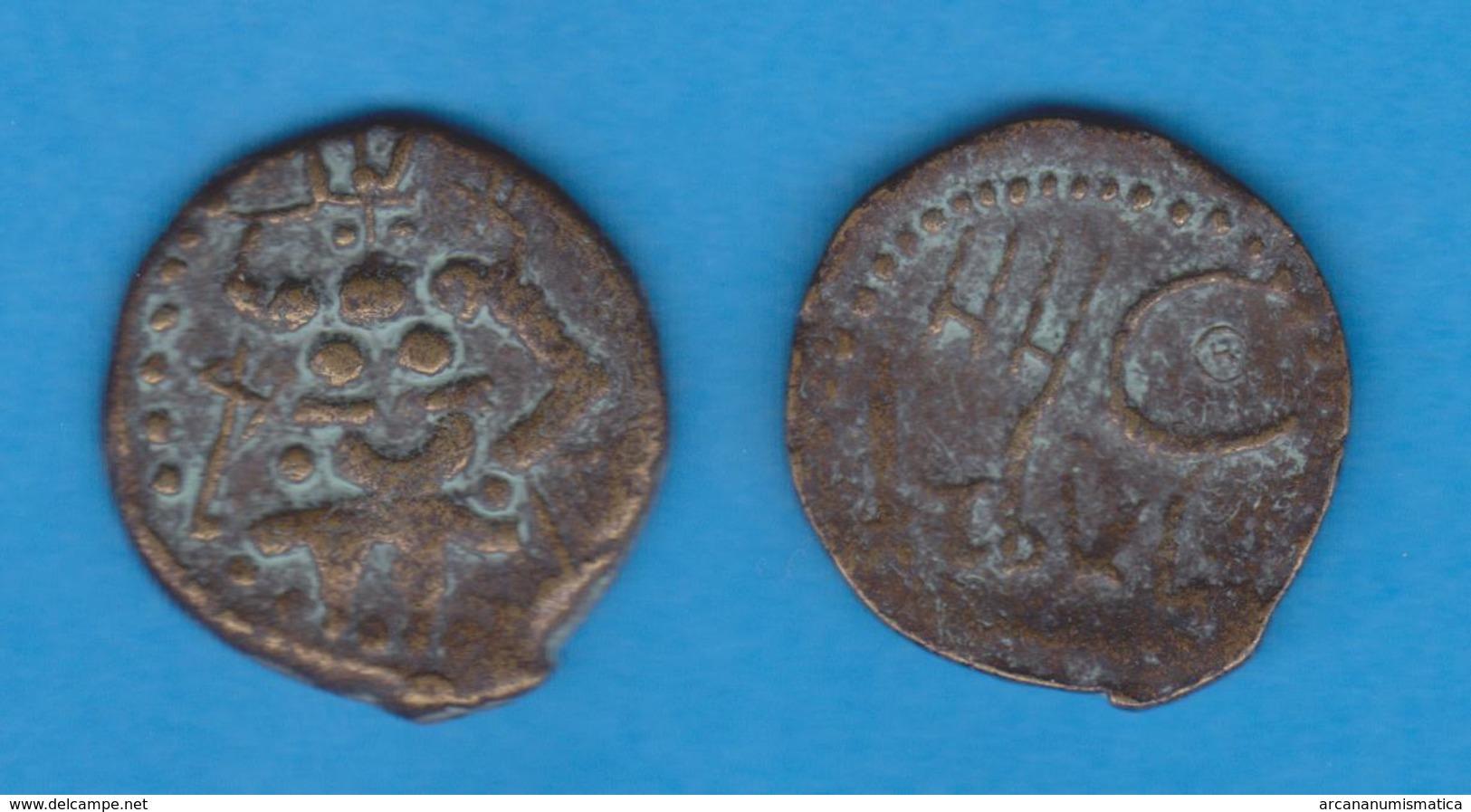 COLONIA FENICIA SEMIS BRONCE YBSM Ebusim Fines Del Siglo II A.C. Replica Réplica  SC/UNC    DL-11.995 - Antiguas