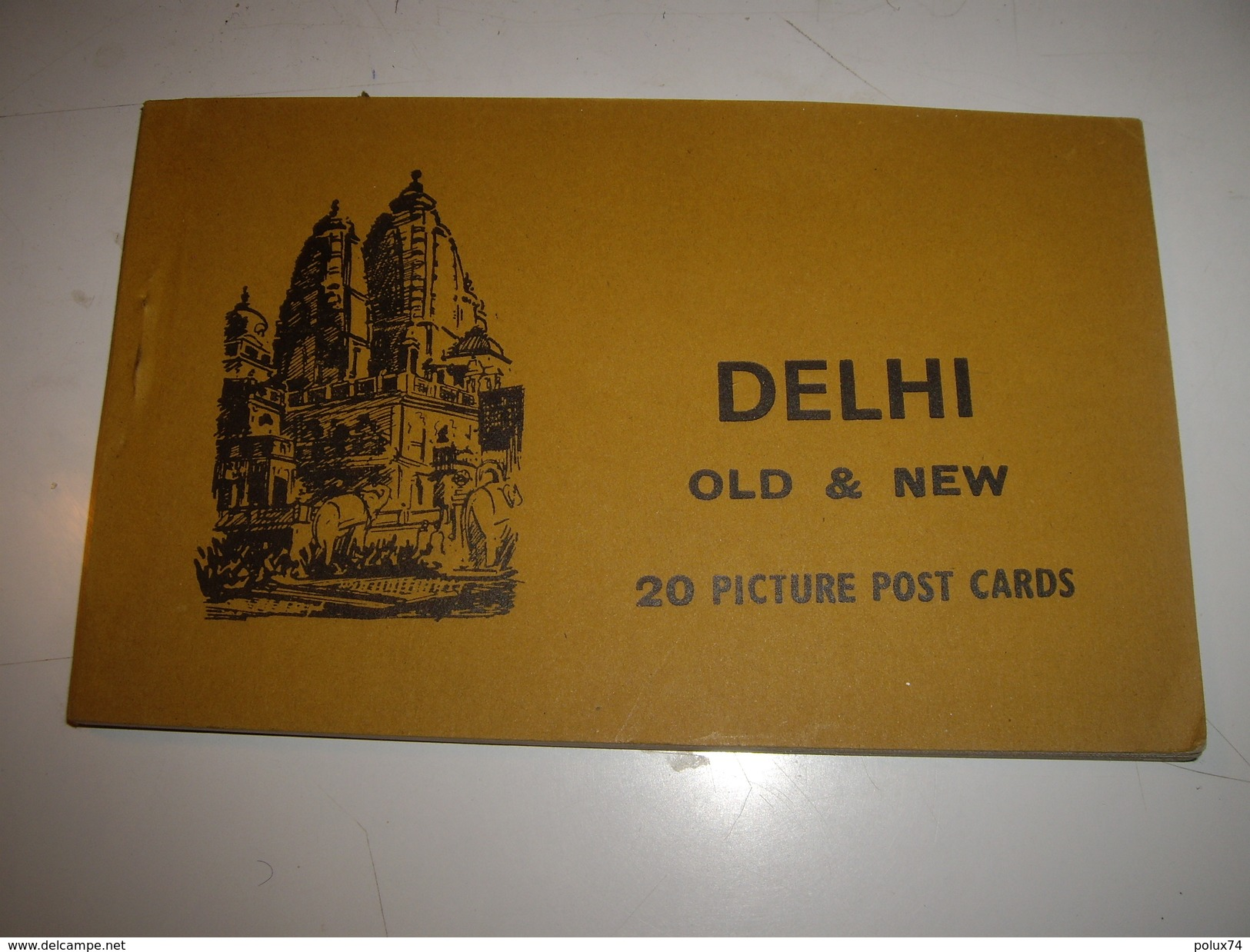 C P  INDE  DELHI   CARNET - Cartoline