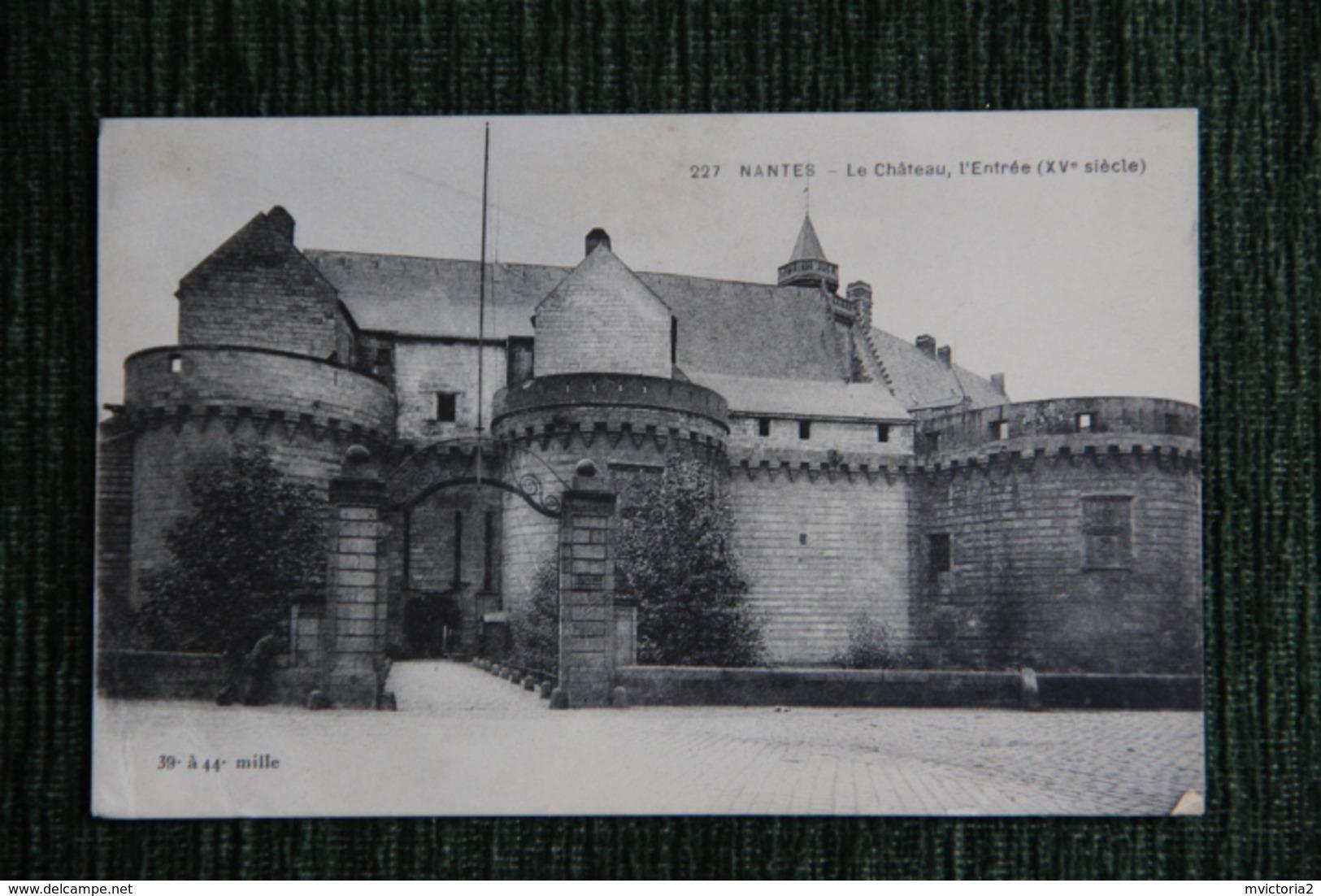 NANTES - Le Château - Nantes