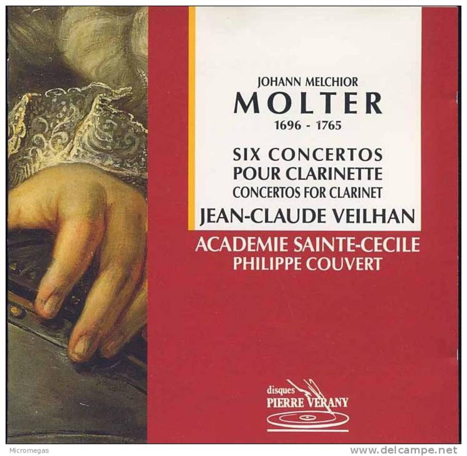 Molter : Six Concertos Pour Clarinette, Veilhan - Classique