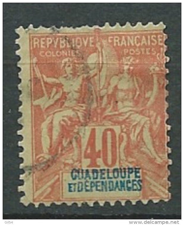 Guadeloupe - Yvert N°36 Oblitéré  Cw 14701 - Guadeloupe (1884-1947)