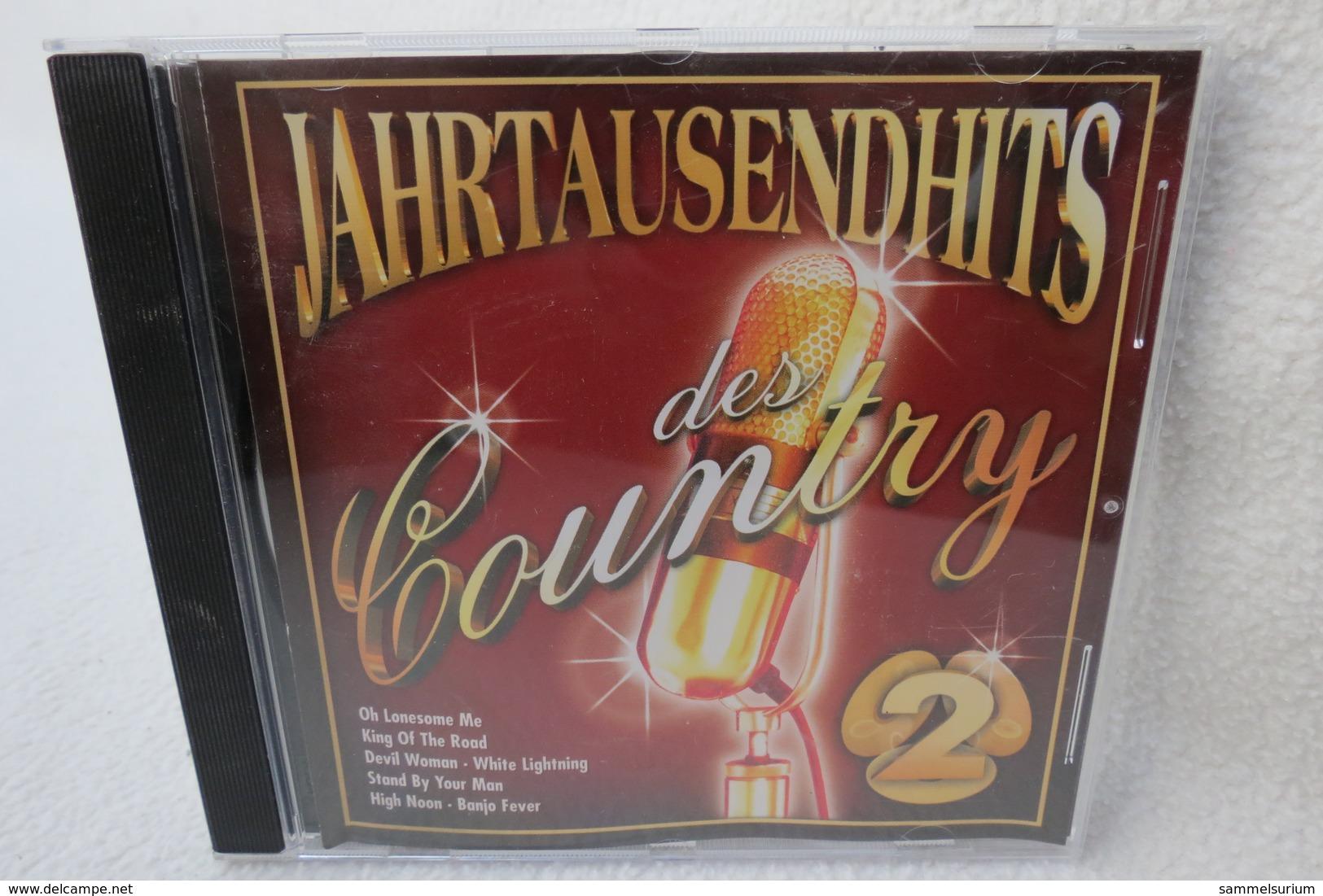 "CD ""Jahrtausendhits Des Country"" CD 2 - Country & Folk"
