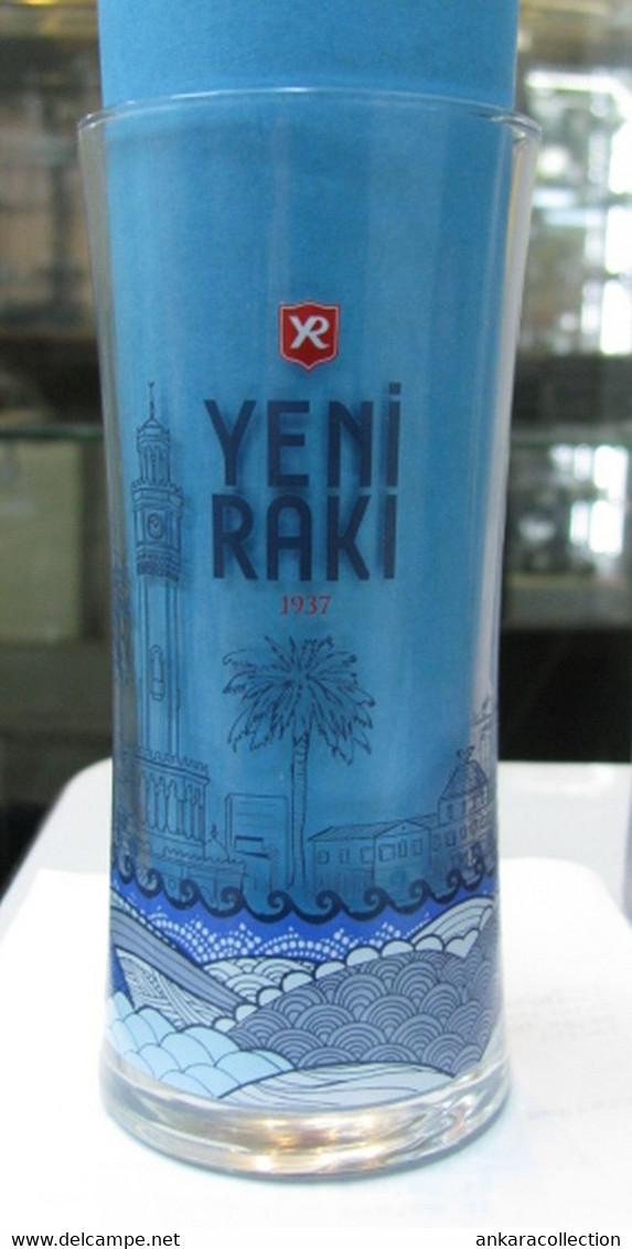 Other Bottles Ac Yeni Raki Glass Izmir 1937 Rare To Find