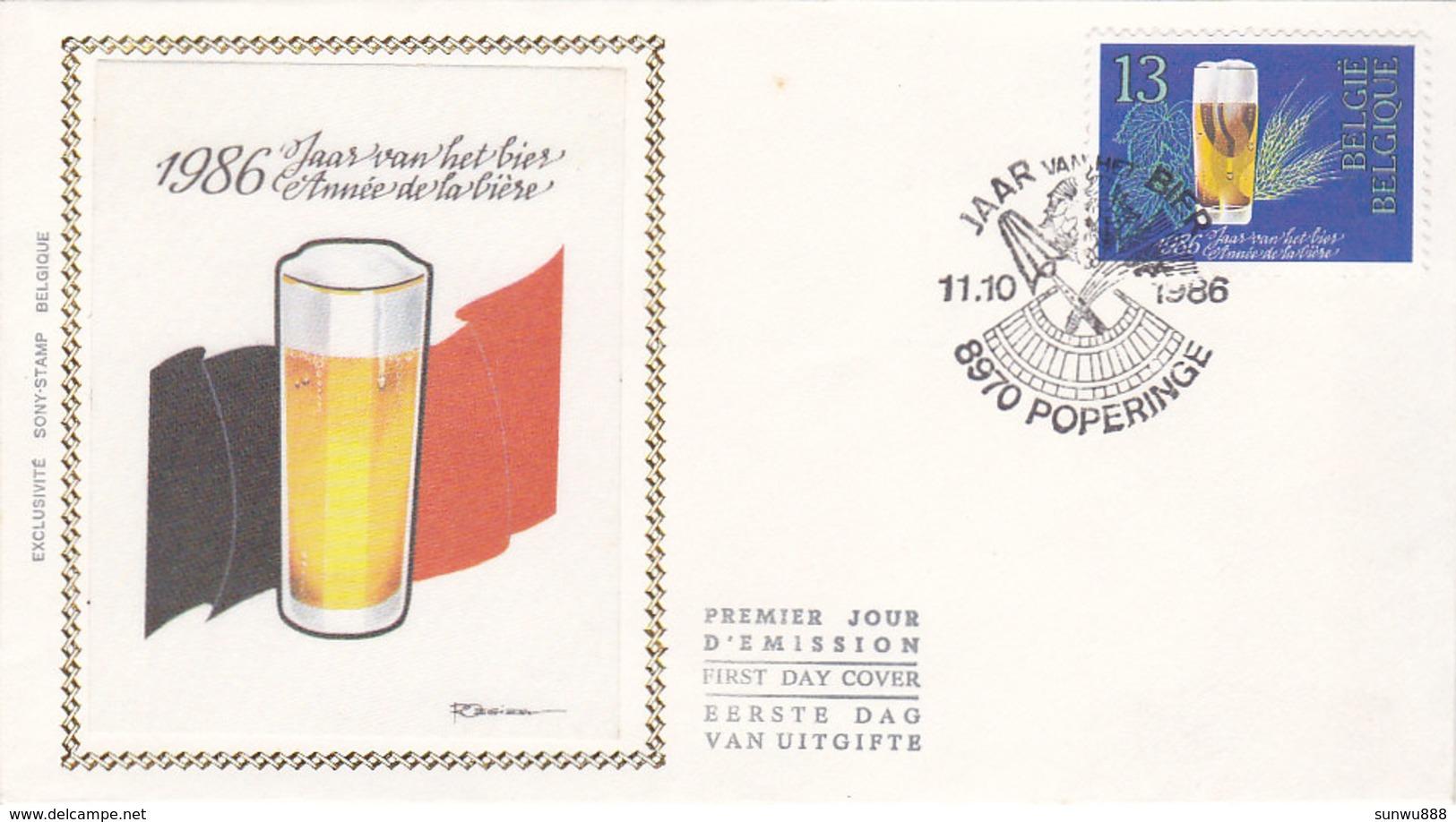 1986 - Année De La Bière - Jaar Van Het Bier FDC - FDC