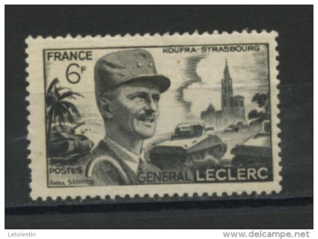 FRANCE -  LECLERC - N° Yvert  815** - Unused Stamps