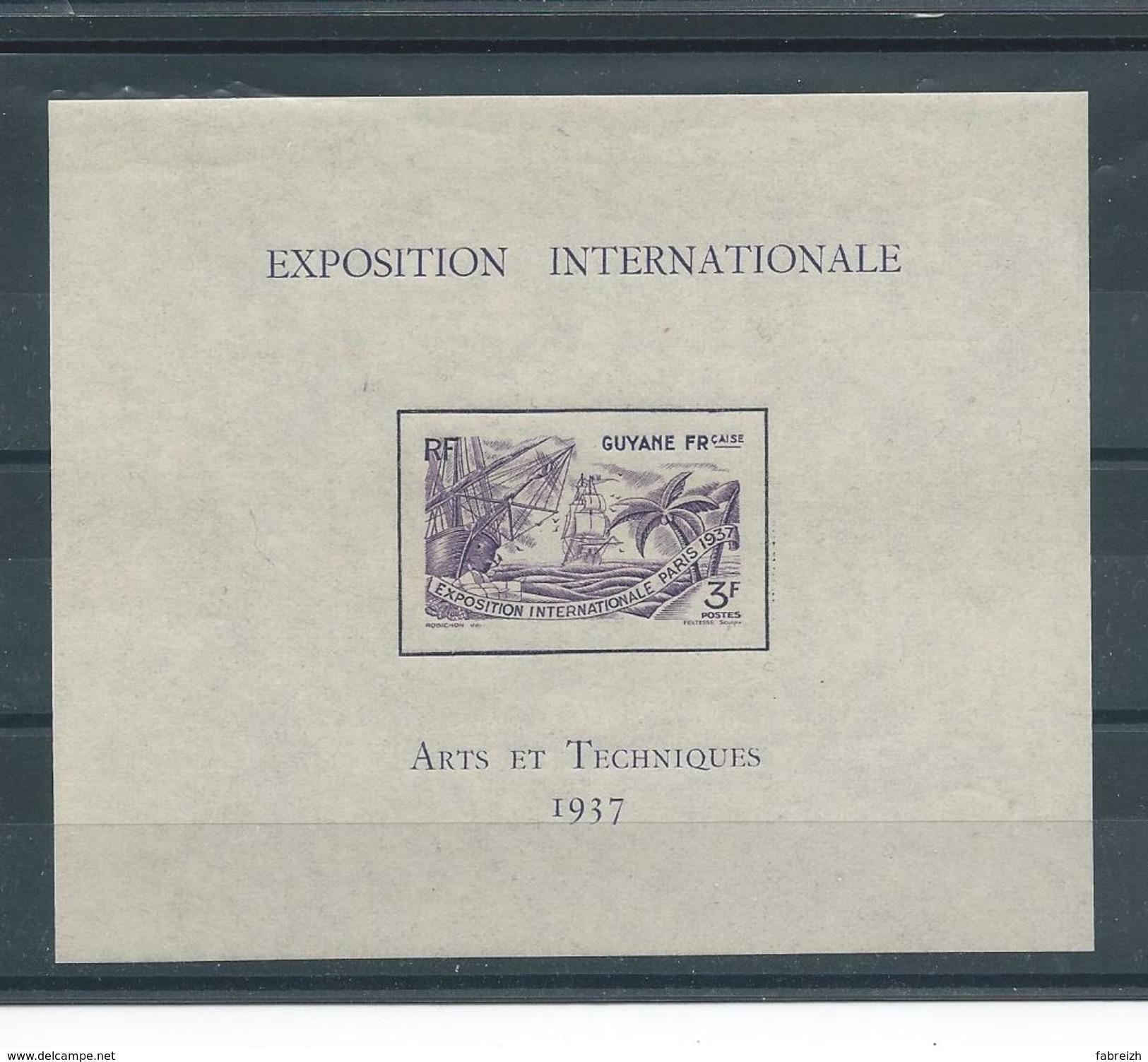 Guyane B.f  N° 1 * * T.B. - Unused Stamps