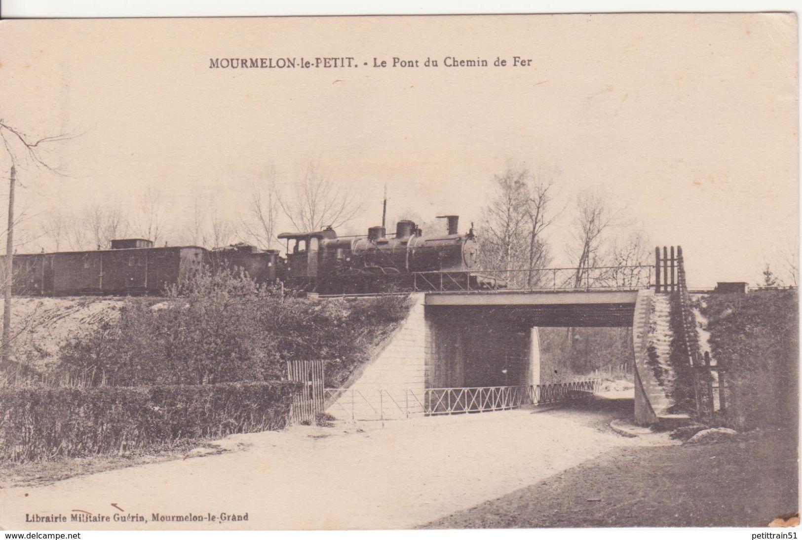MOURMELON-le-PETIT: Le Pont Du Chemin De Fer - France