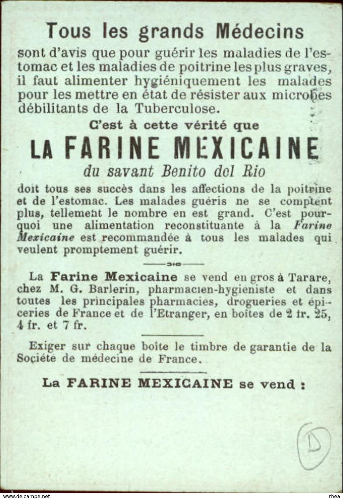 METIERS - CHROMO Farine Mexicaine - REMOULEUR - Chromos