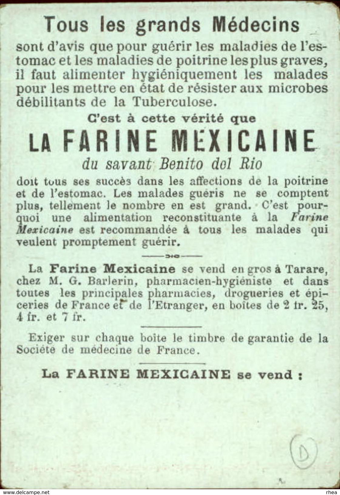 METIERS - CHROMO Farine Mexicaine - Marchand De Journaux - Chromos
