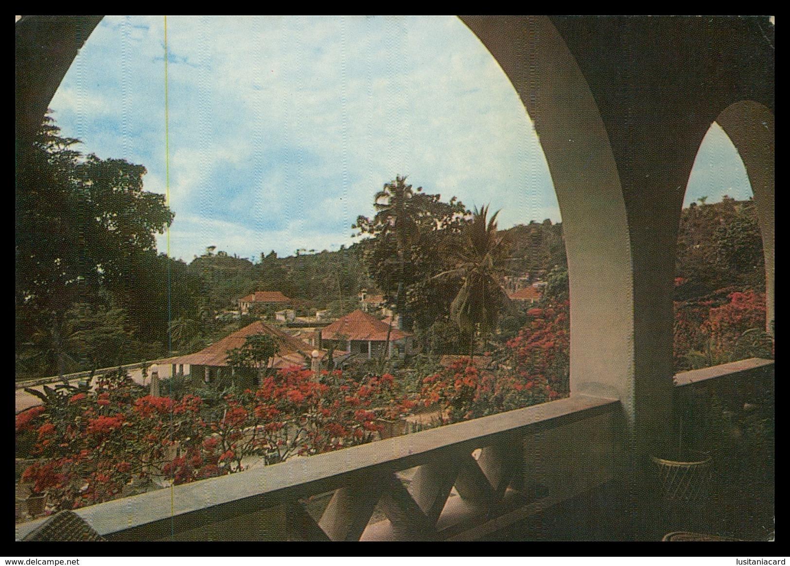 TIMOR - HOTEIS E RESTAURANTES -  Varanda Da Pousada De Santiago.  Carte Postale - Timor Oriental