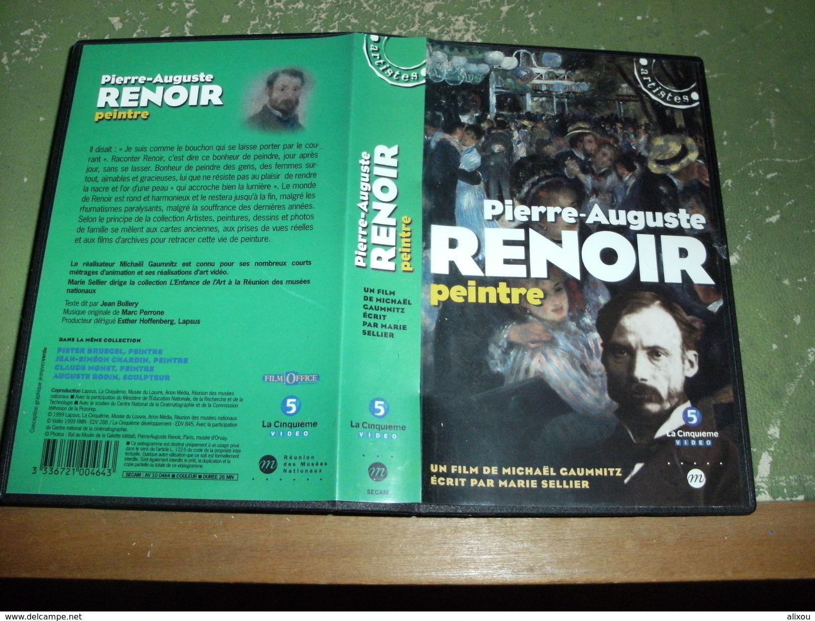 """Rare Film : """" Pierre Auguste Renoir """" - Geschichte"""