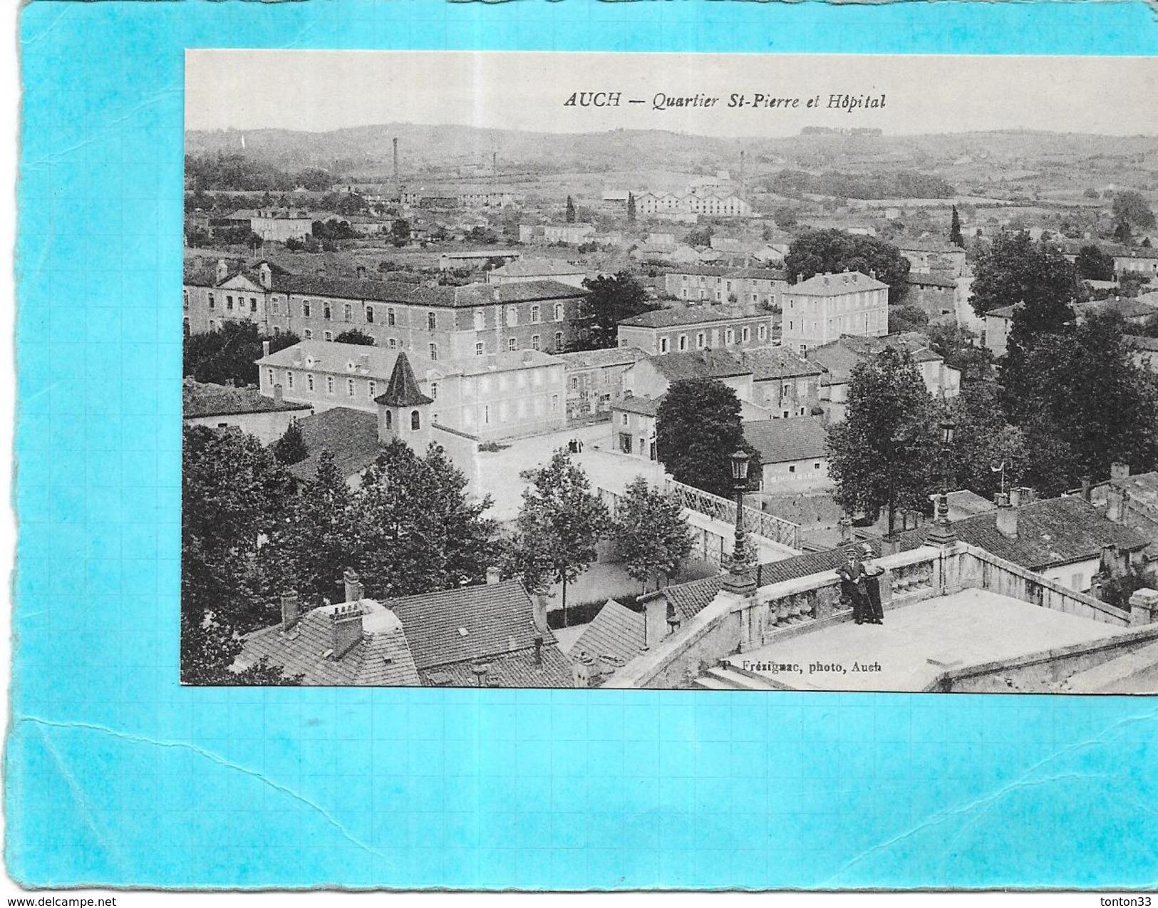 AUCH - 32 - Quartier Saint Pierre Et Hopital - AUT - - Auch