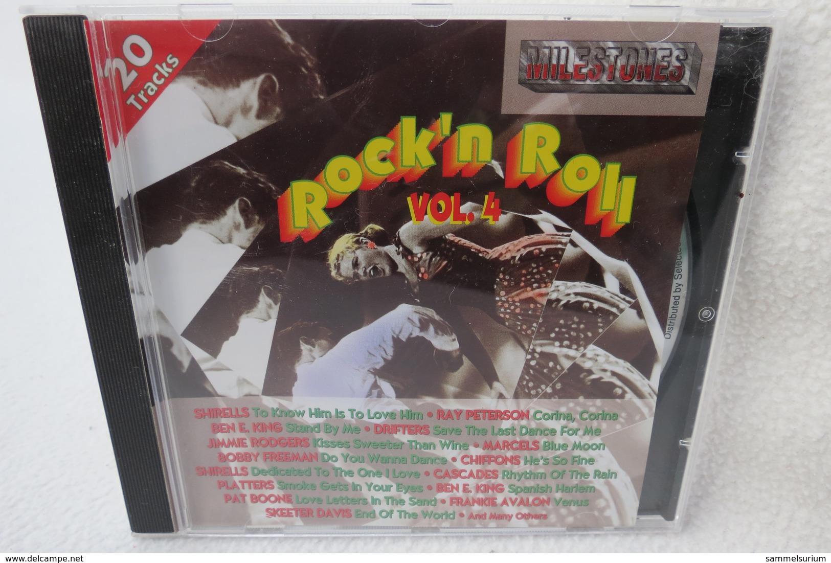 "CD ""20 Milestones Of Rock´n Roll"" Vol. 4 - Hit-Compilations"