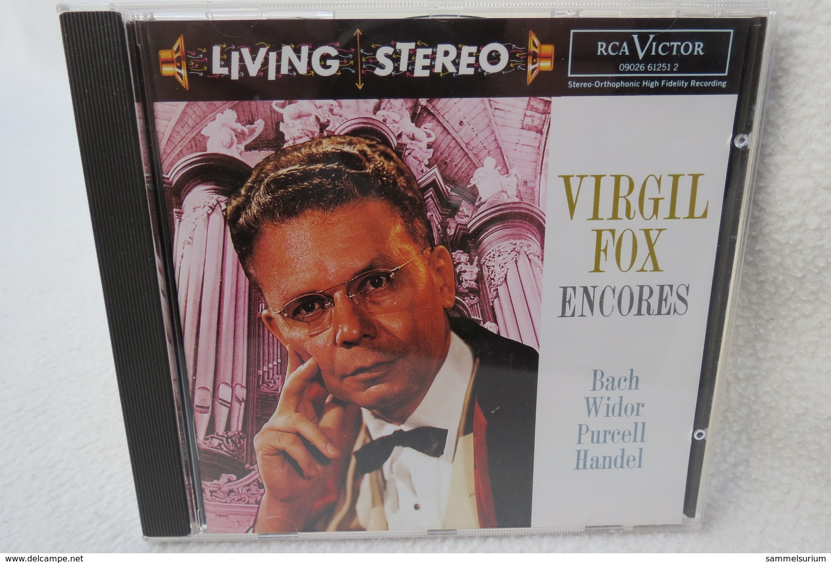 "CD ""Virgil Fox"" Encores, Bach Widor Purcell Handel - Klassik"