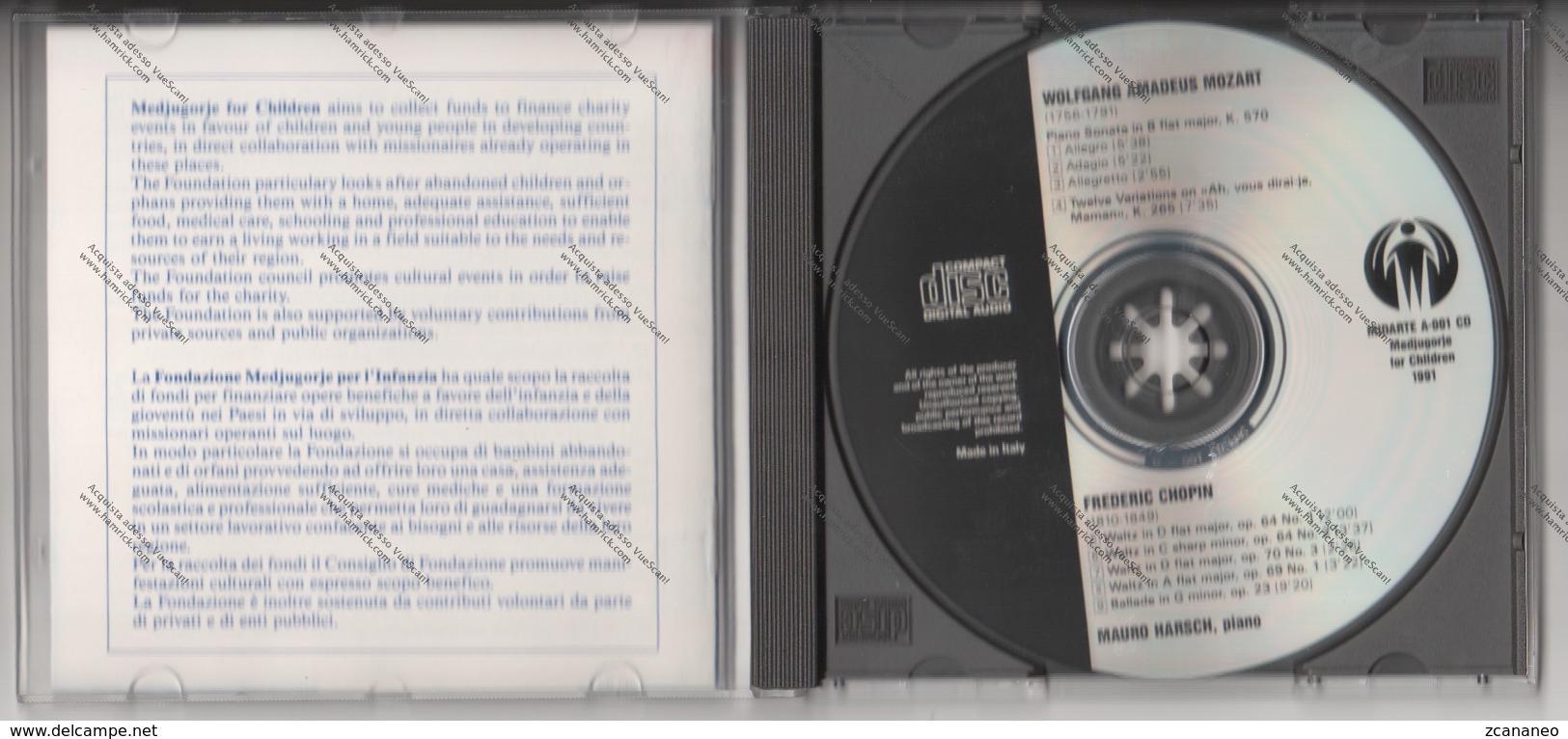 CD DI MAURO HARSCH - MOZART CHOPIN - - Klassik