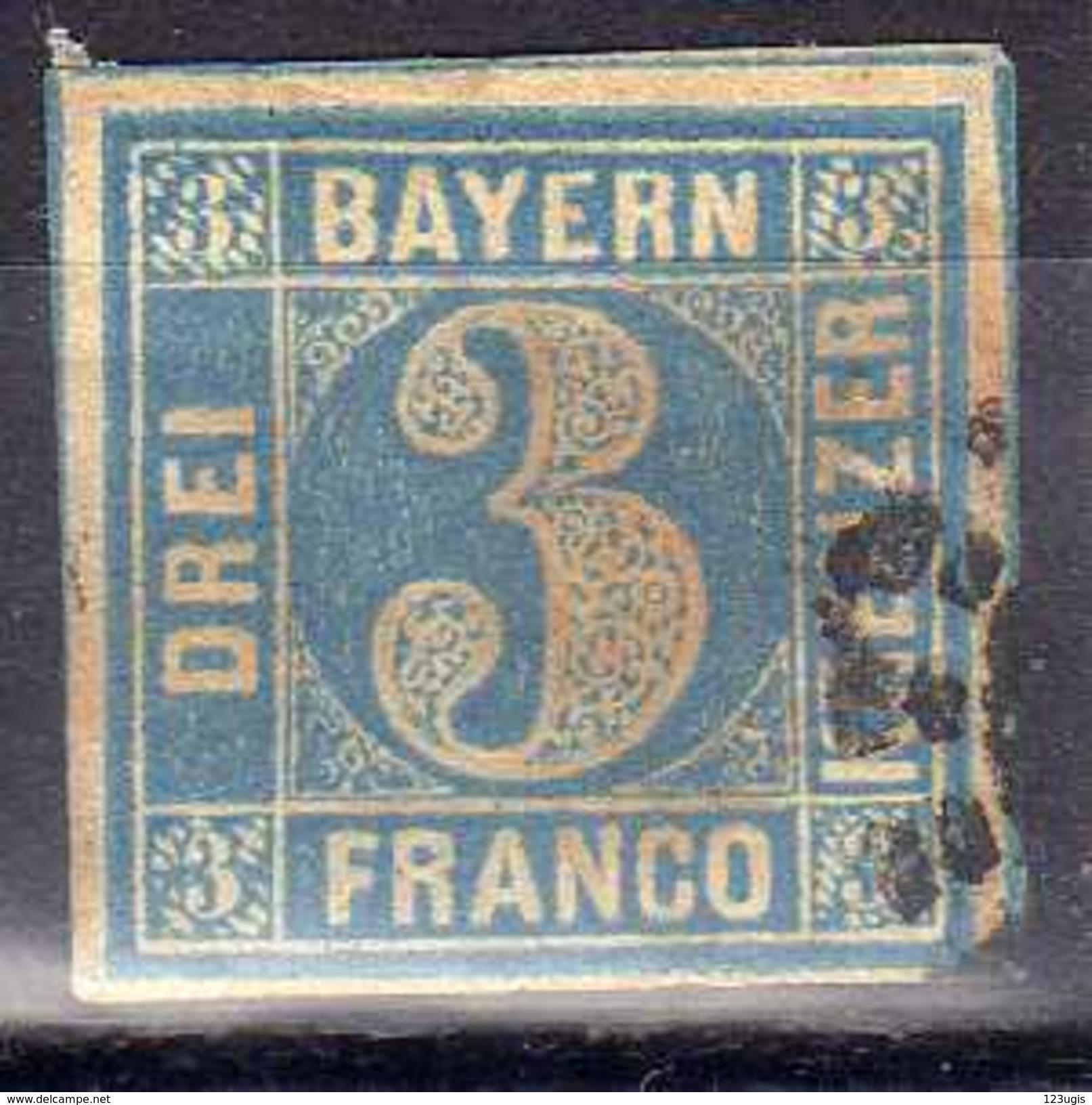 Bayern, Mi 2 I, Gestempelt [311216StkKV] - Bayern