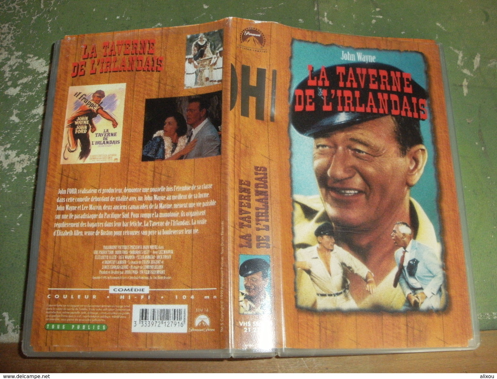 """Rare Film : """" La Taverne De L'Irlandais """" - Comedy"""