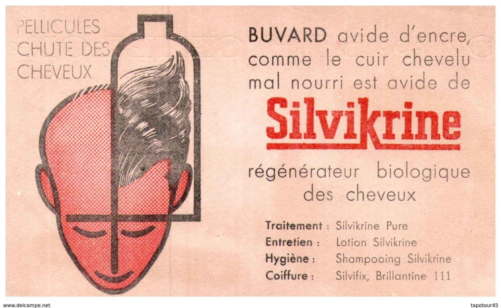 S Sh S/ Buvard Shampoing  Silvikrine   (N= 1) - Buvards, Protège-cahiers Illustrés