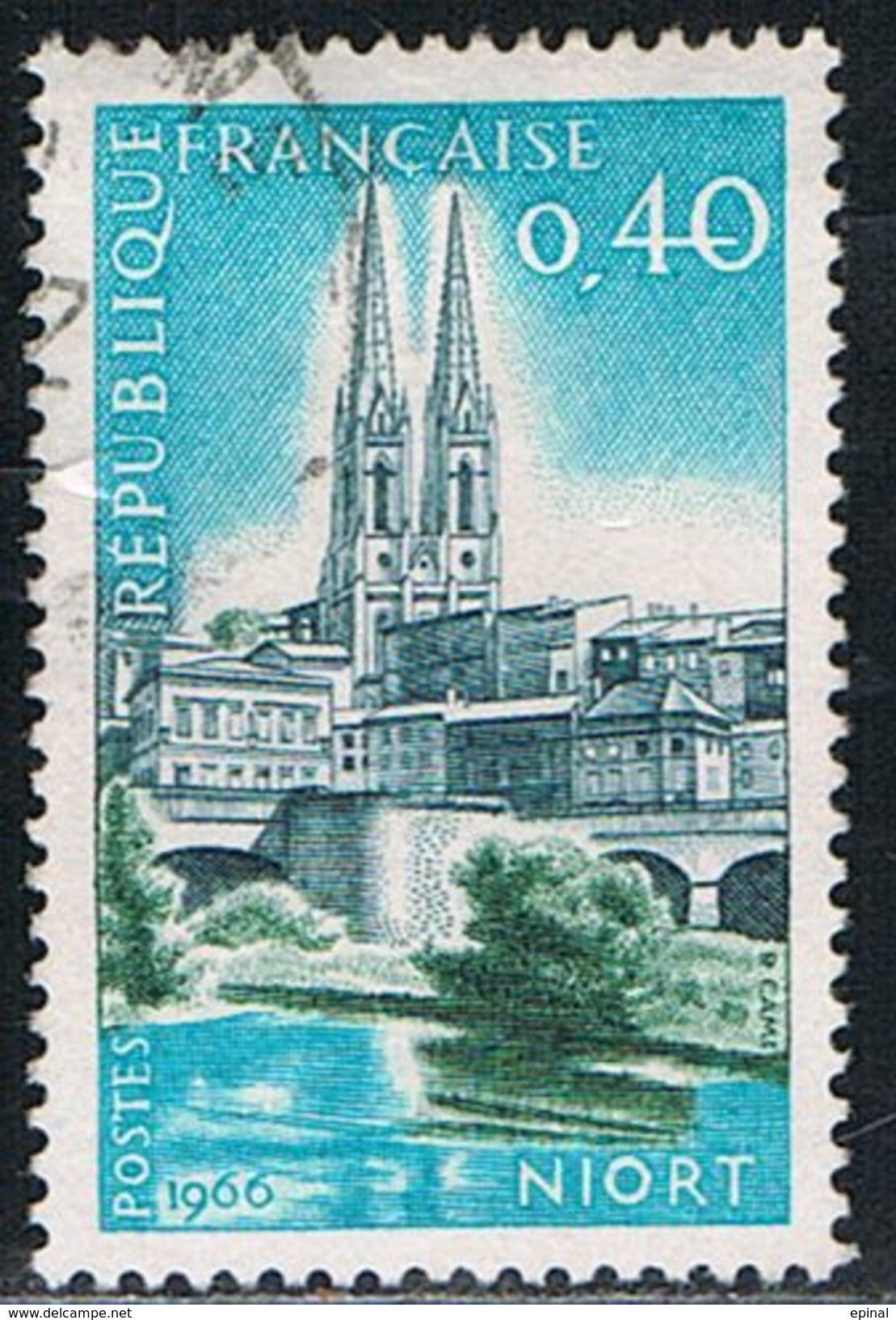 FRANCE : N° 1485 Oblitéré (39ème Congrès De La FFAP, à Niort) - PRIX FIXE - - Frankreich