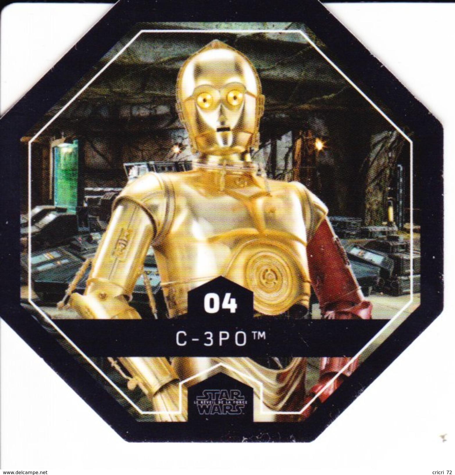 04 C-3 P O 2016 STAR WARS LECLERC COSMIC SHELLS - Episode II