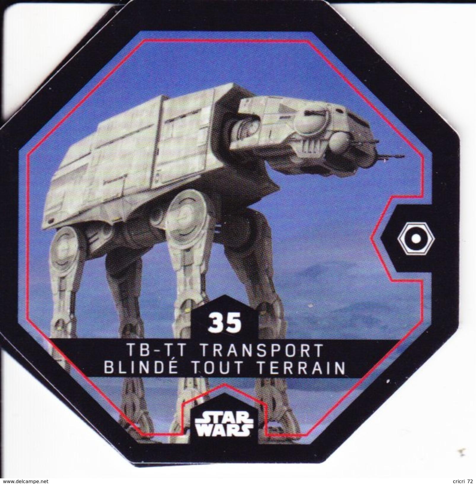 35 TB-TT TRANSPORT BLINDE TOUT TERRAIN 2016 STAR WARS LECLERC COSMIC SHELLS - Episode II