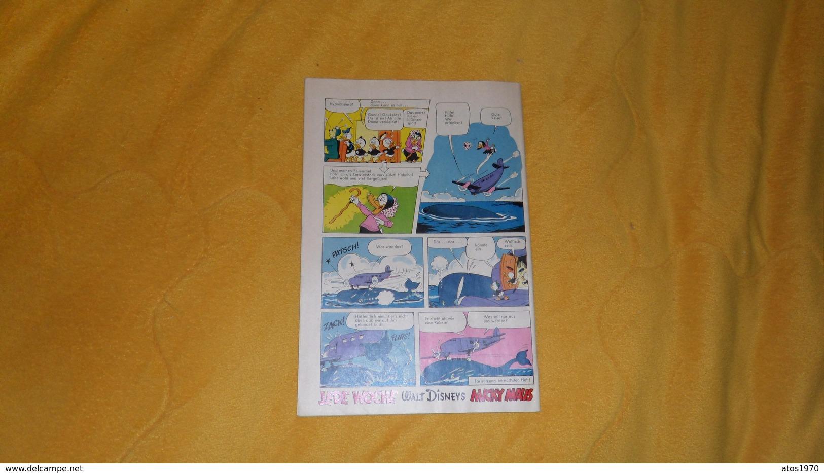 BANDE DESSINEE MICKY MAUS WALT DISNEYS 2 AUGUST 1969 N°31 / EN ALLEMAND. - Walt Disney