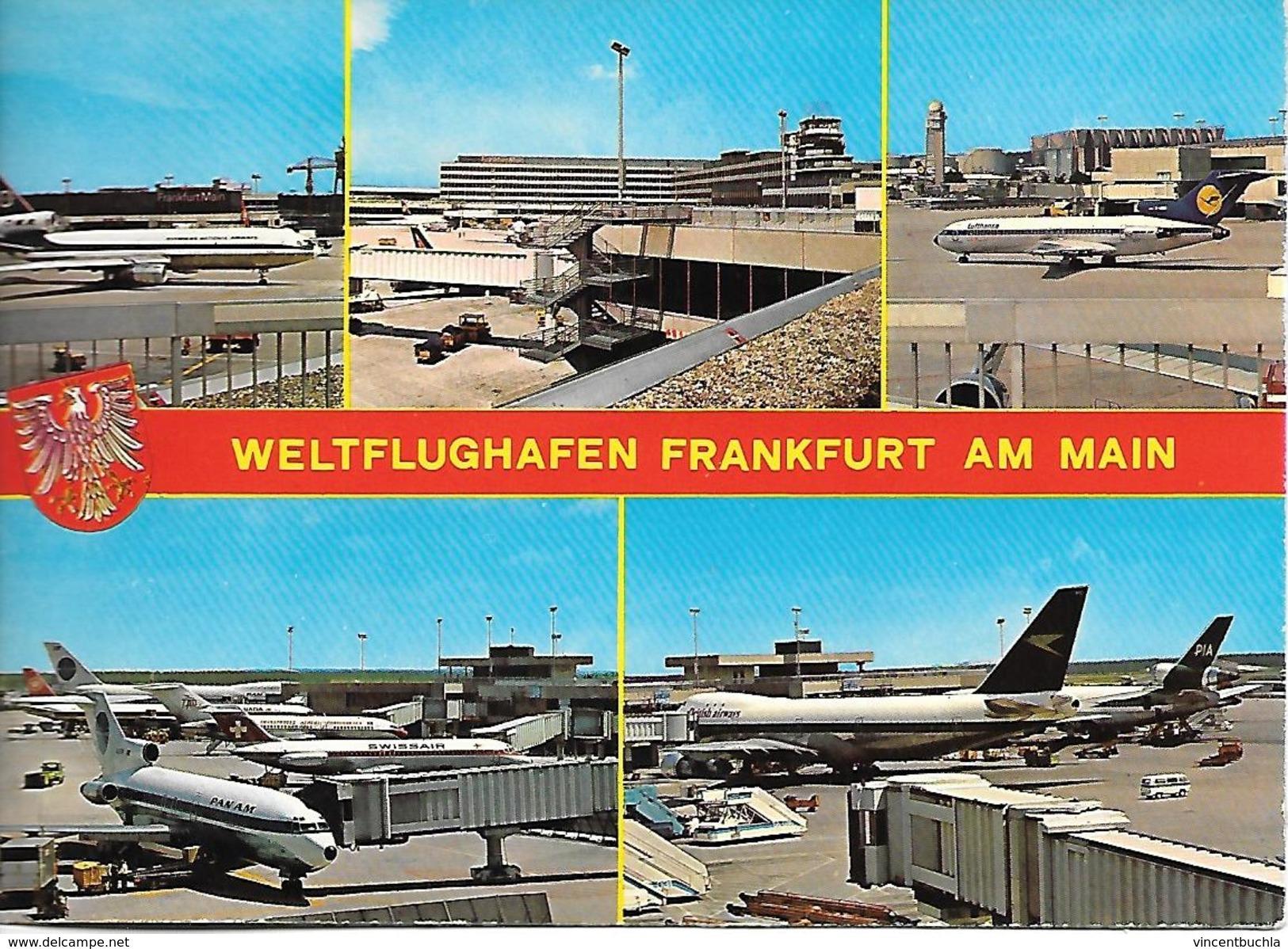 Weltflughafen Frankfurt Am Main Avions Airplanes - Frankfurt A. Main
