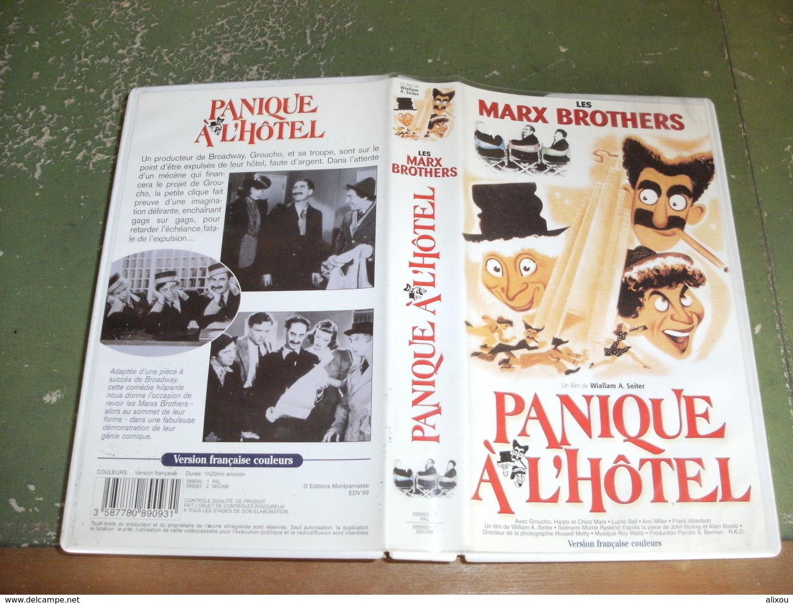 """Rare Film : """" Panique à L'hôtel  """" - Comedy"""