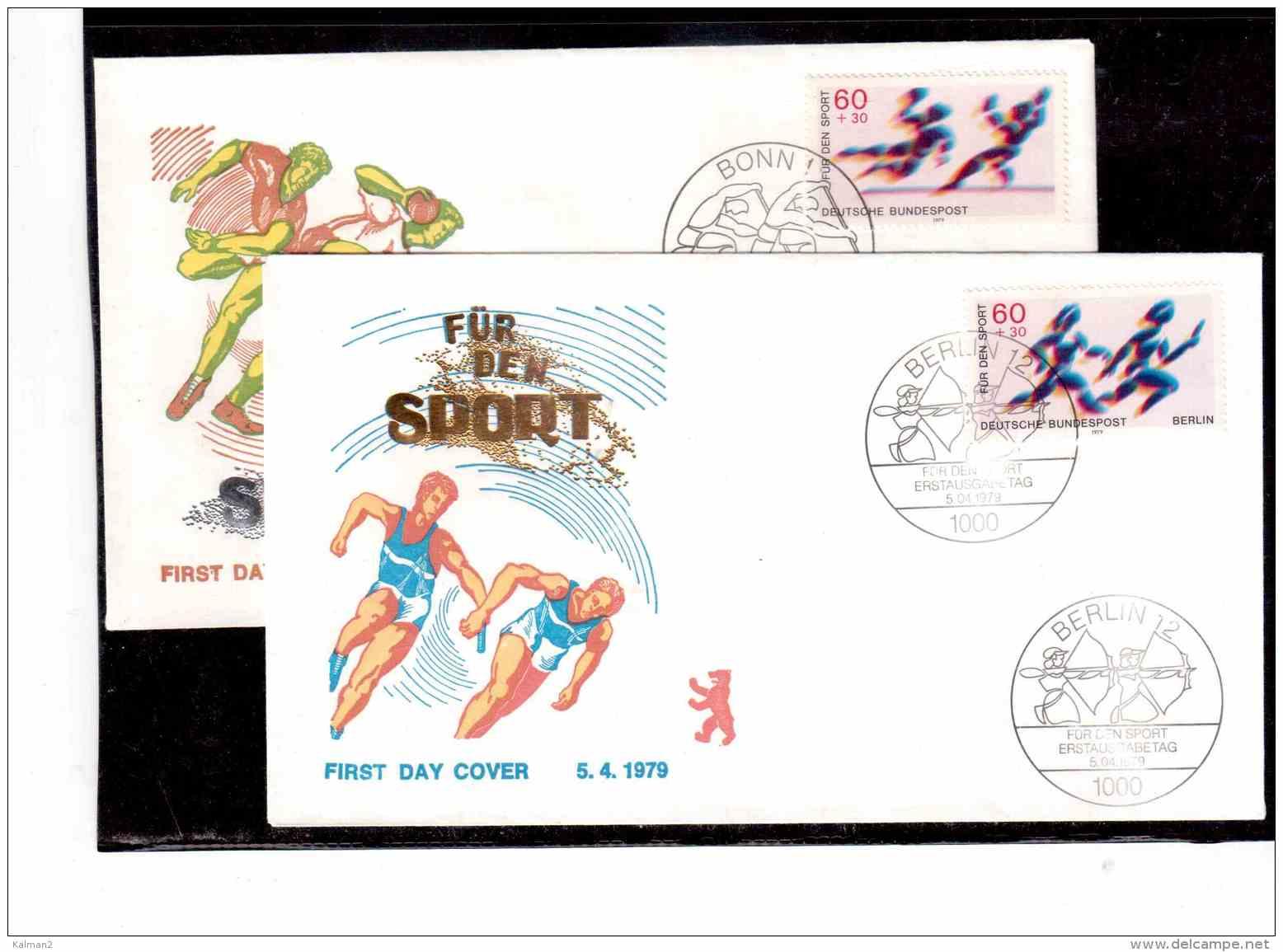 TEM8569   -   BONN  5.4.79      /     FDC   MICHEL NR. 1009/10 - Francobolli