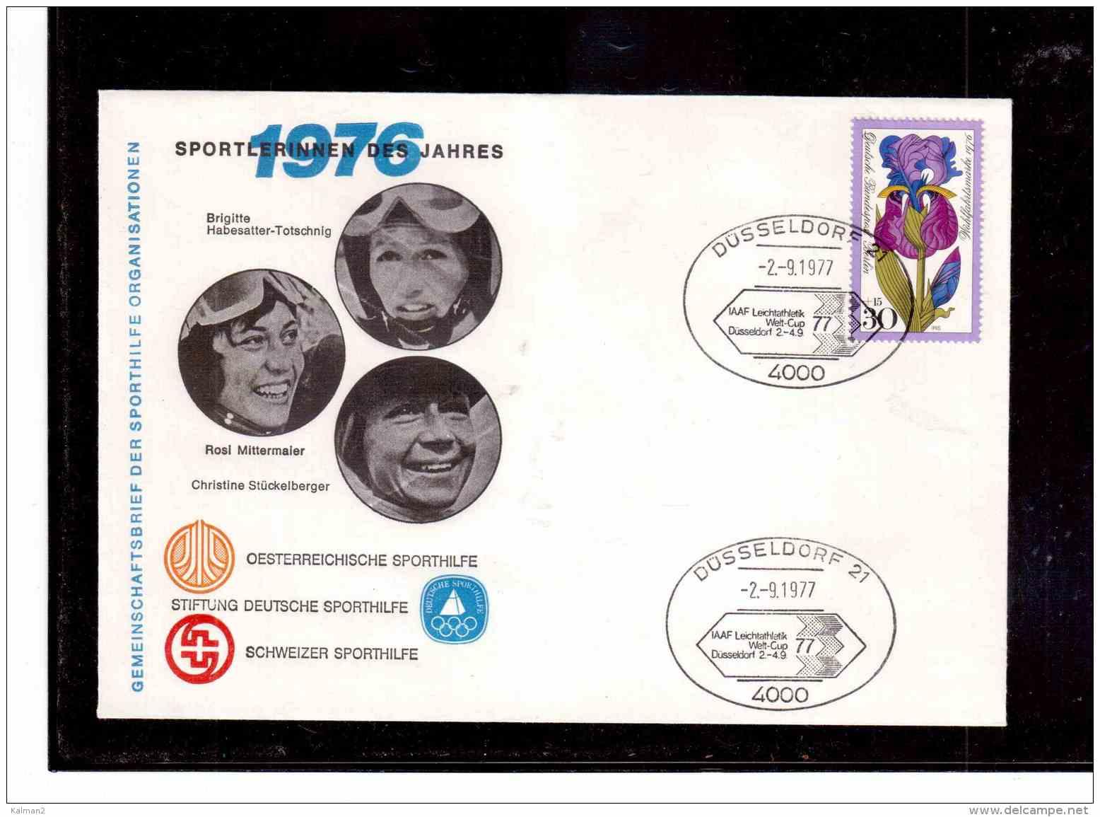 TEM8587   -   DUESSELDORF  2.9.77   /    IAAF LEICHTTHETIK WELT-CUP - Non Classificati