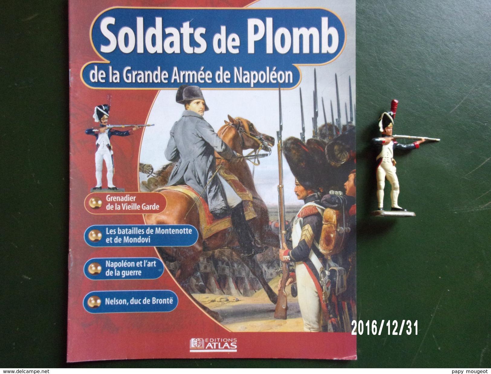 Grenadier - Soldats De Plomb De La Grande Armée De Napoléon - Militaires