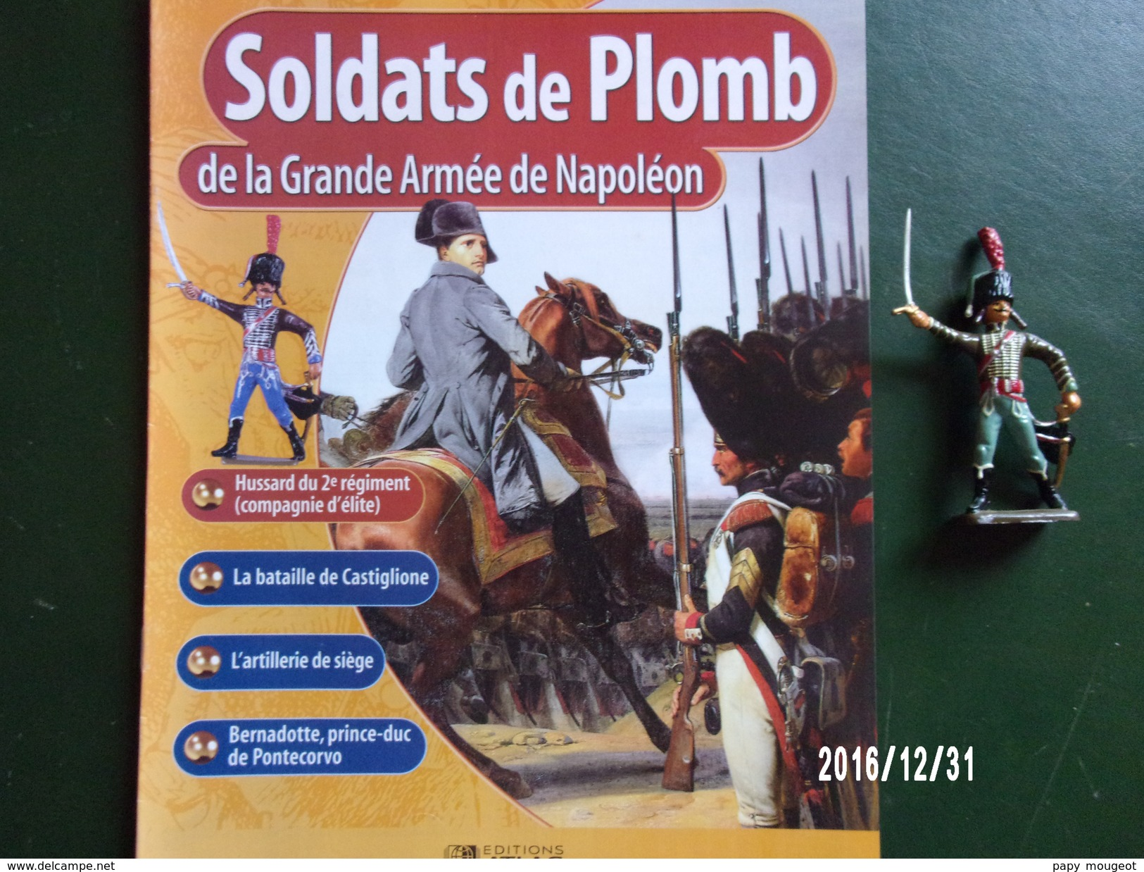 Hussard - Soldats De Plomb De La Grande Armée De Napoléon - Militaires