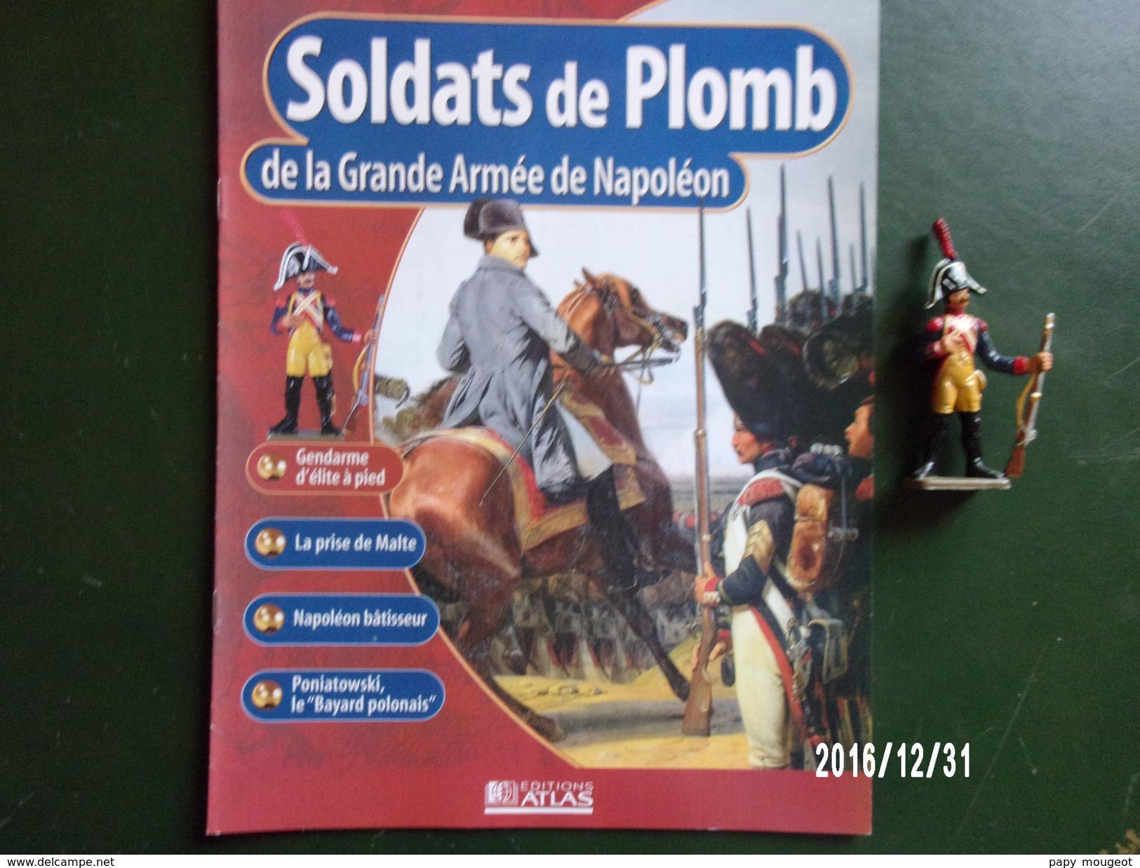 Gendarme - Soldats De Plomb De La Grande Armée De Napoléon - Militaires
