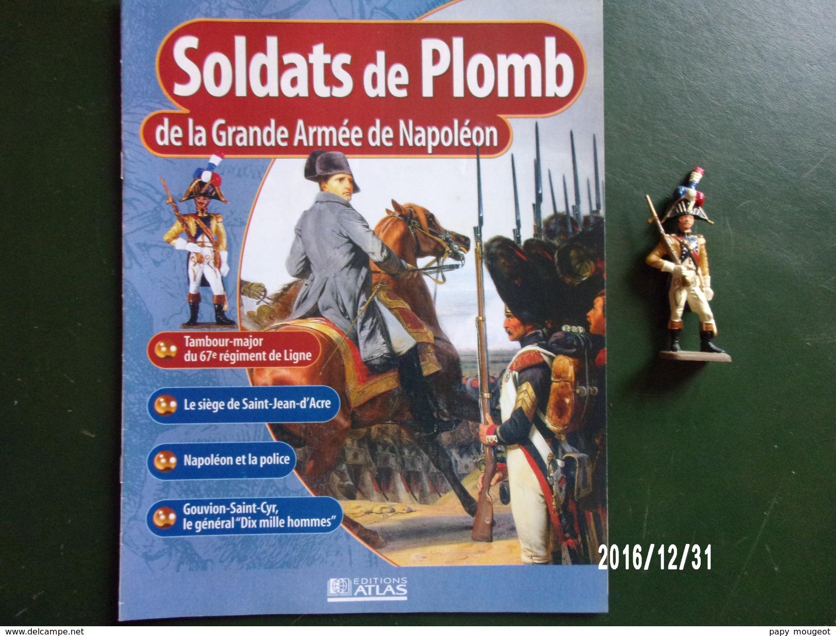 Tambour Major - Soldats De Plomb De La Grande Armée De Napoléon - Militaires