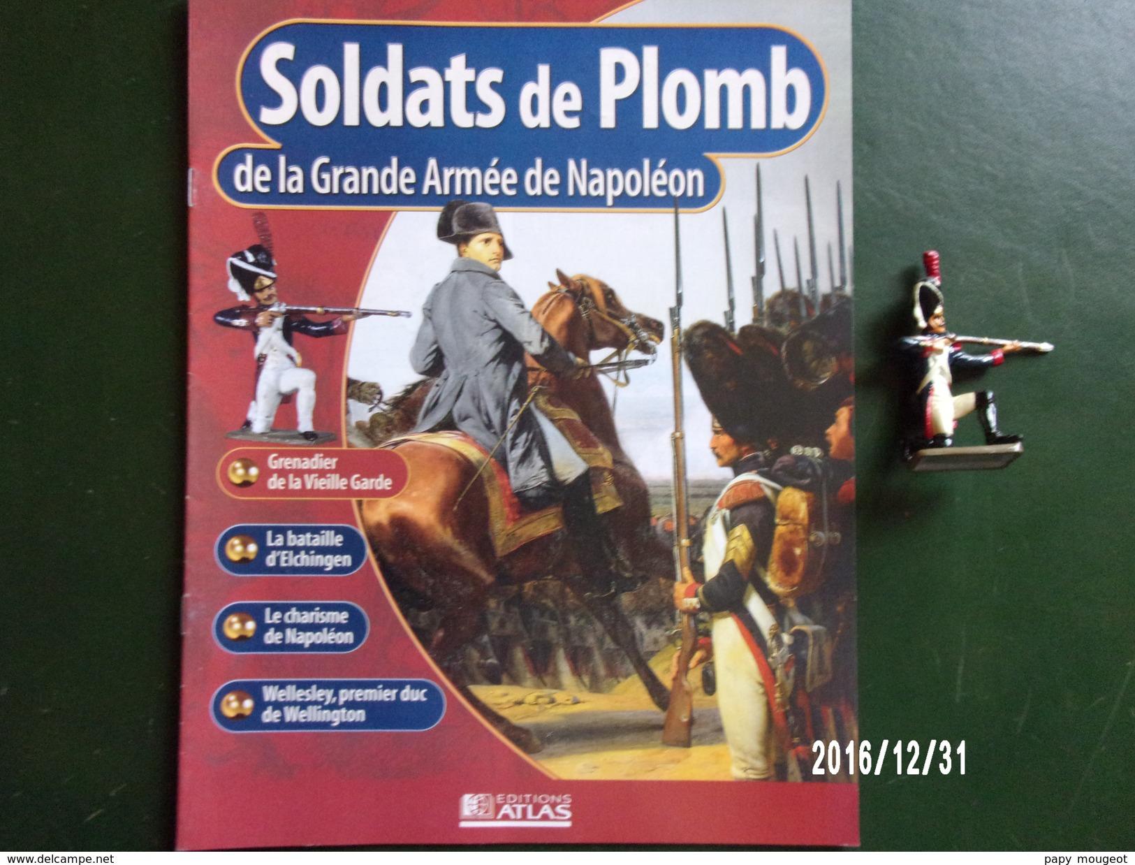 Grenadier - Soldats De Plomb De La Grande Armée De Napoléon - Figurines