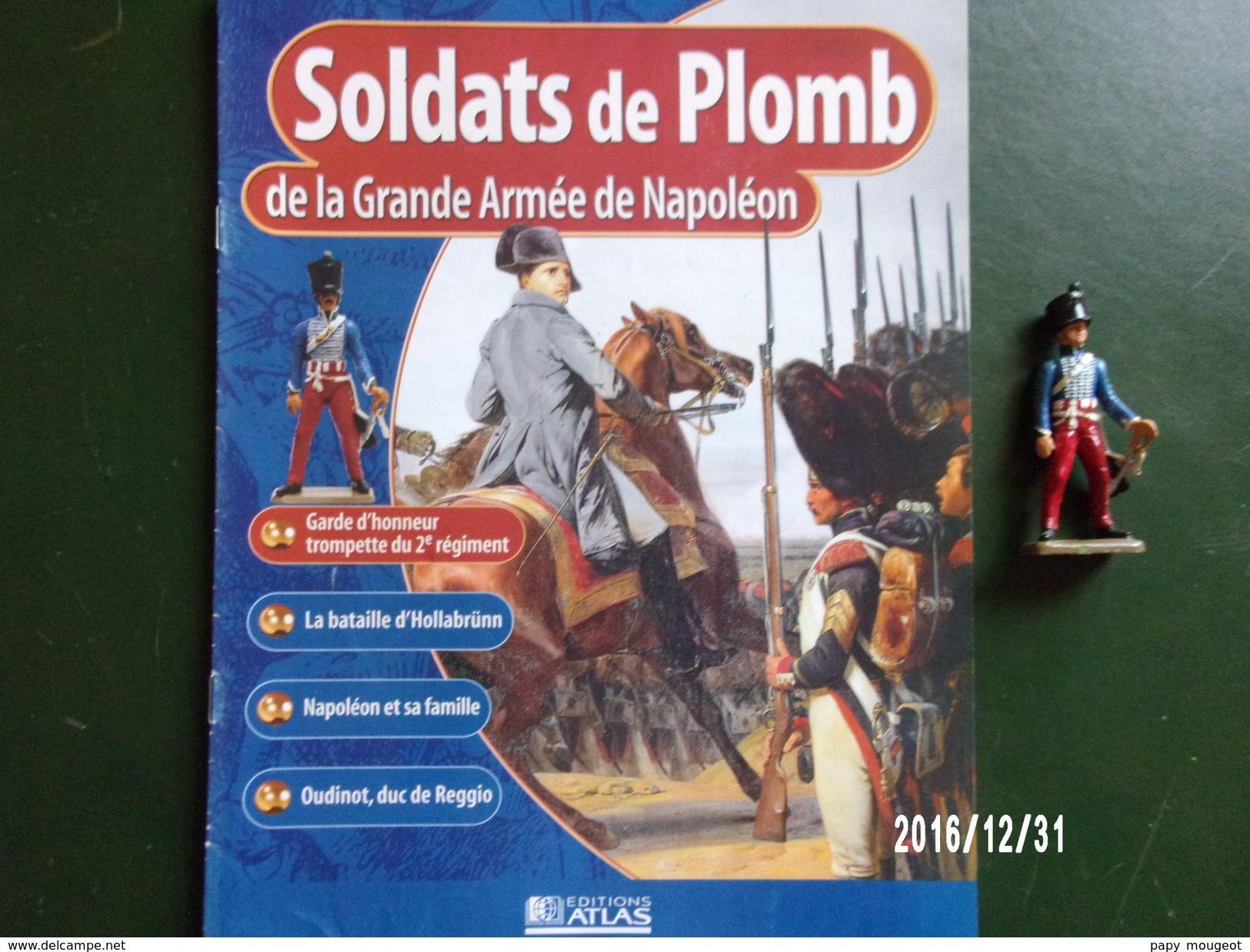 Trompette - Soldats De Plomb De La Grande Armée De Napoléon - Militaires