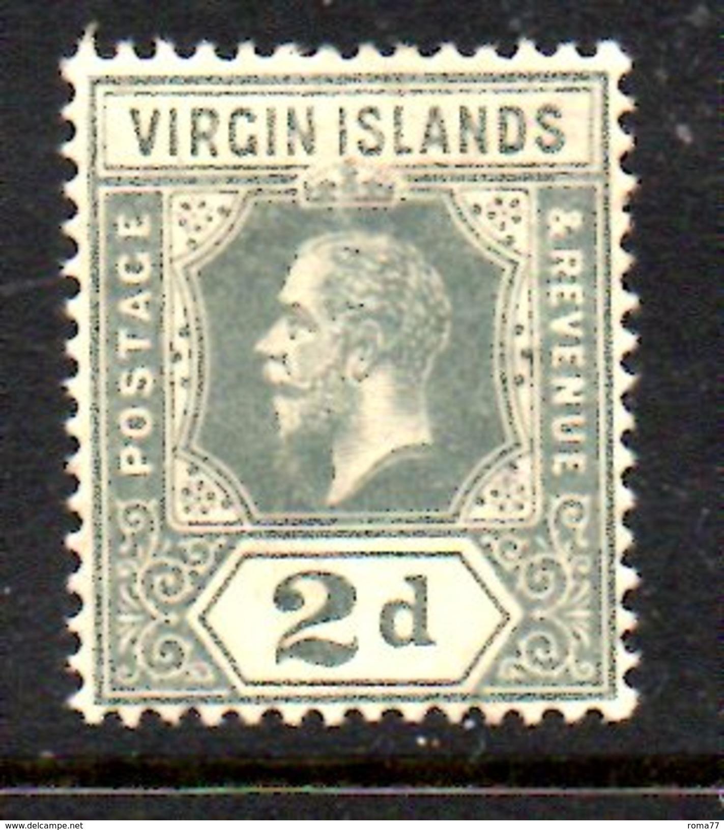 XP94 - BRITISH VIRGIN ISLANDS , 2 Penny Fil Multi CA * - British Virgin Islands