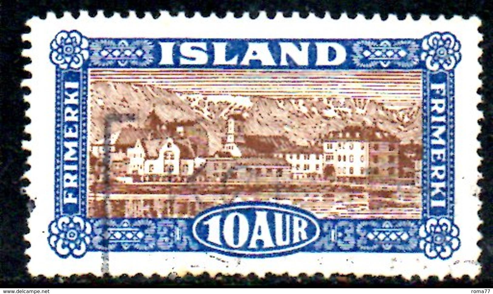 XP403 - ISLANDA 1925 , Il N. 116  Usato - 1944-... Repubblica