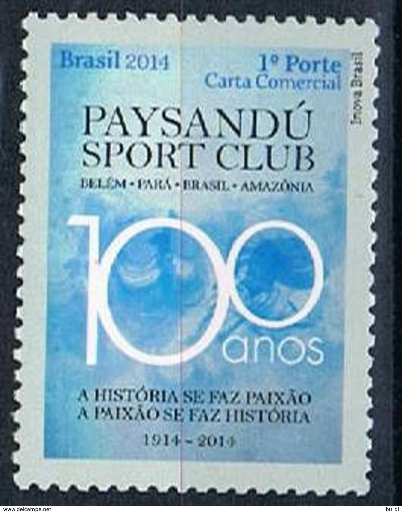 Brasilien 4139 - Paysandú Sport Club, Belém, Fußball - Unused Stamps