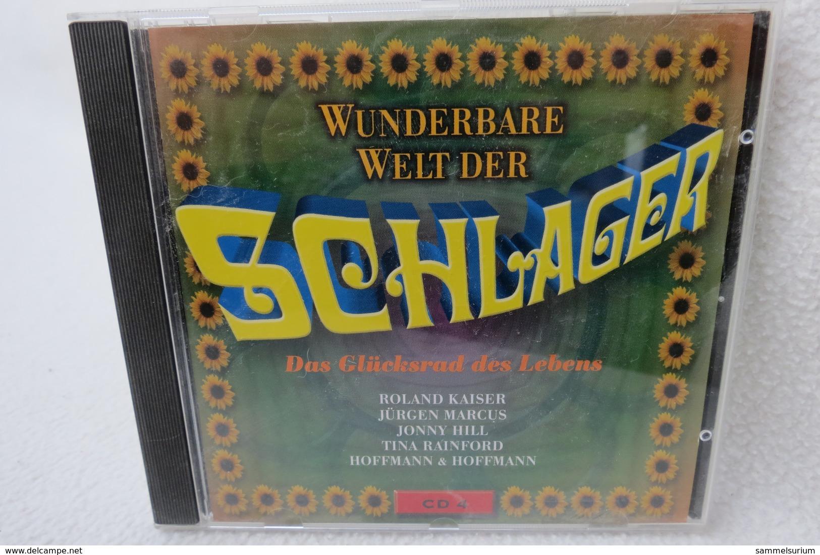 """CD """"Wunderbare Welt Der Schlager"""" Das Glücksrad Des Lebens, CD 4 - Hit-Compilations"""