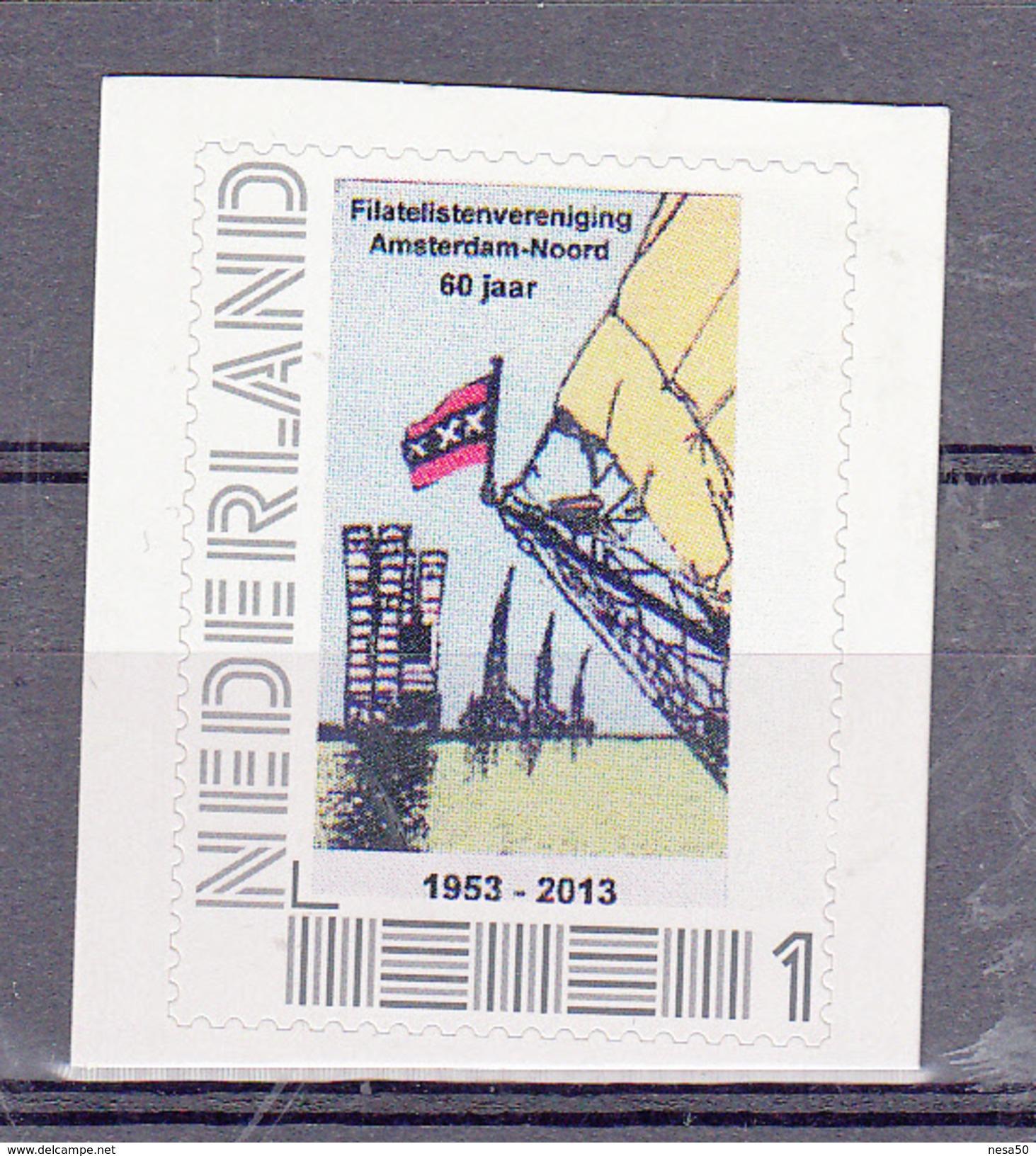 Nederland 2016 Persoonlijke Zegel, Thema: Filatelistenvereniging Amsterdam-Noord 60 Jaar - Period 2013-... (Willem-Alexander)
