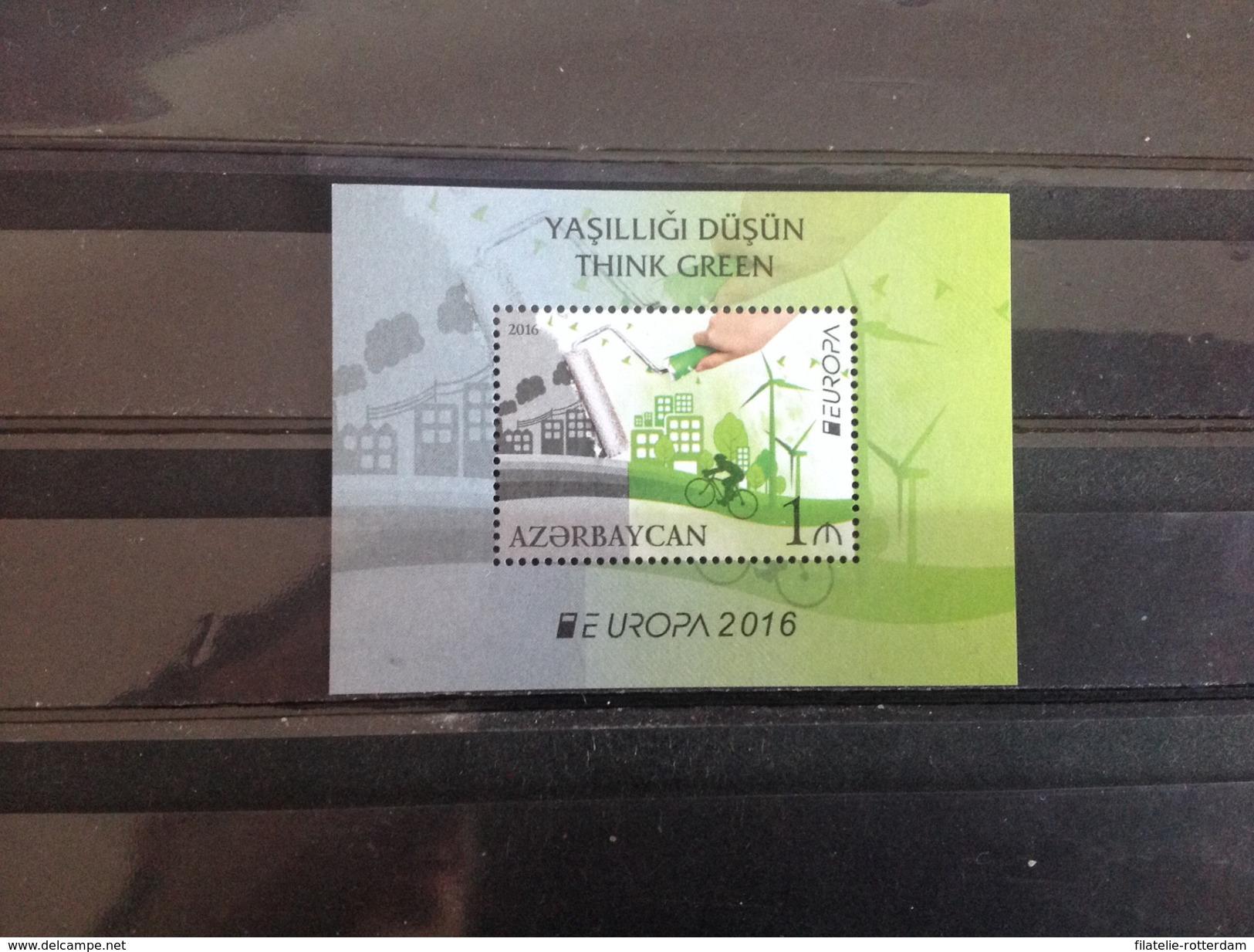 Azerbaijan - Postfris / MNH - Sheet Europa, Denk Groen 2016 NEW! Very Rare! - Azerbeidzjan