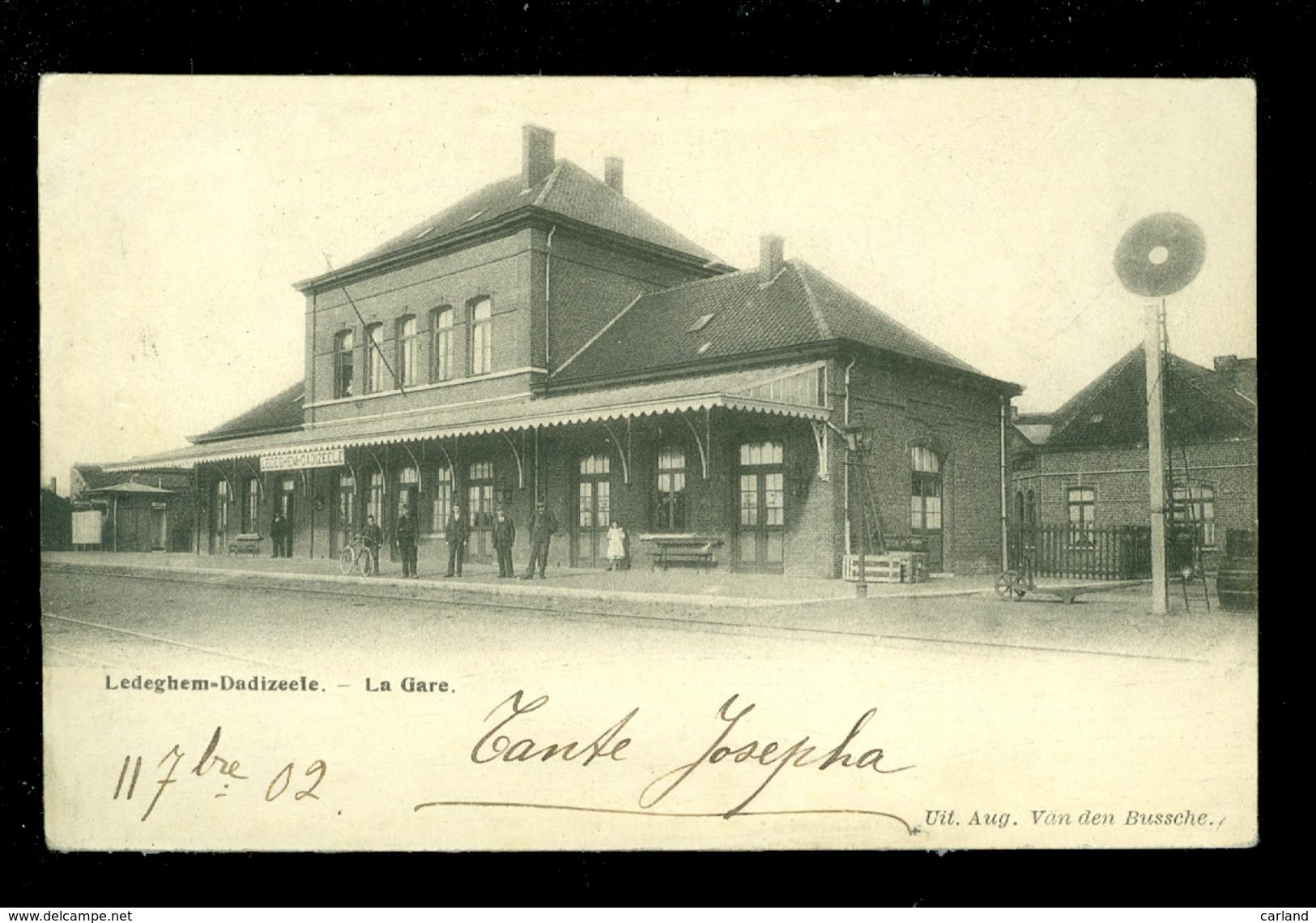 Ledeghem - Dadizeele   Ledegem - Dadizele  :  Gare  Statie  Station  - ZELDZAAM - Ledegem