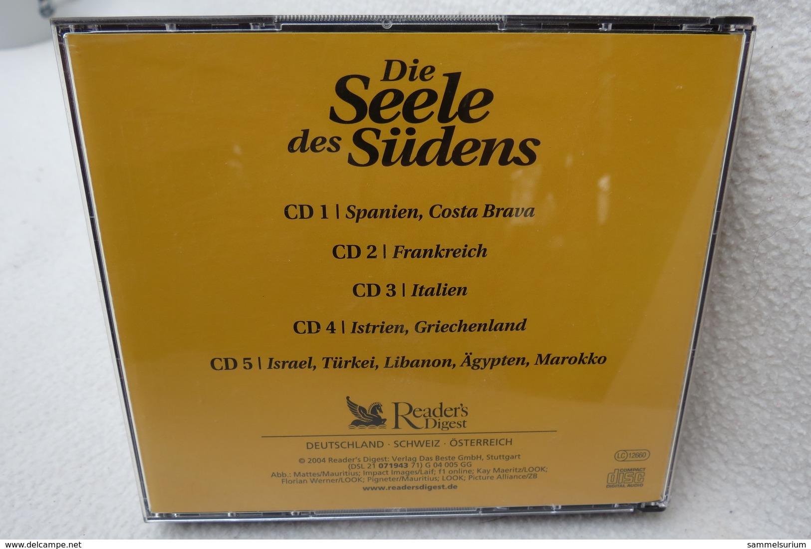"""5 CD-Set """"Die Seele Des Südens"""" Folklore Mit Temperament Und Herz - Hit-Compilations"""